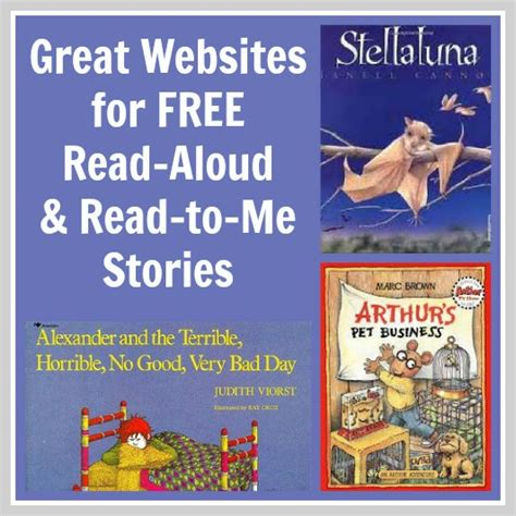 Read Me Me Me Online - 50 read aloud books online reading aloud free reading