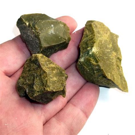 green opal rock green opal mineral specimen