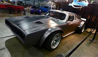 dom s dodge charger for fast 8 sounds menacing