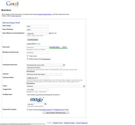 daftar gmail indonesia  membuat email  gratis weblog
