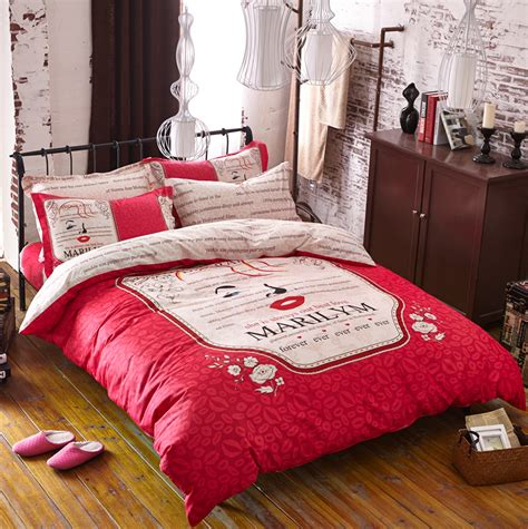 2016 New High Quality Bedding Set Cotton 3 4pcs Bed Set