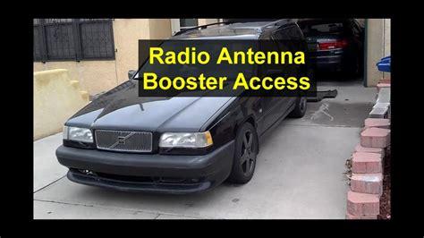 radio antenna booster replacement   volvo    votd youtube