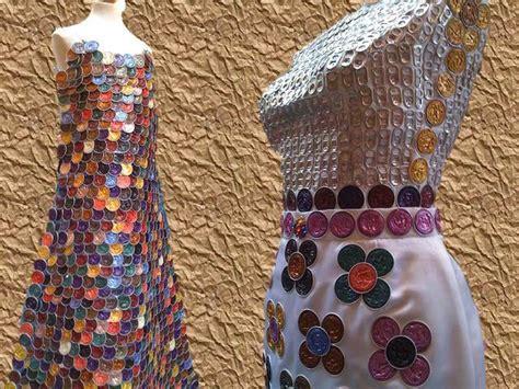 vestido con material reciclado 7 originales ideas para hacer ropa y vestidos con