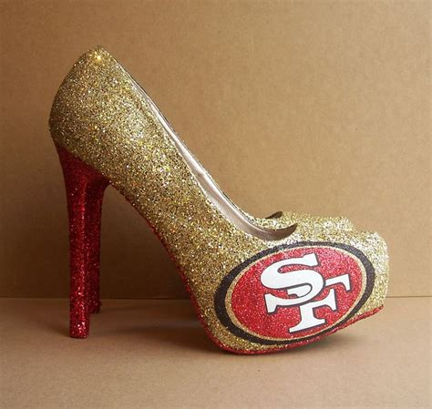 49er high heels for sale best 25 49er shoes ideas on 49ers fans 49ers
