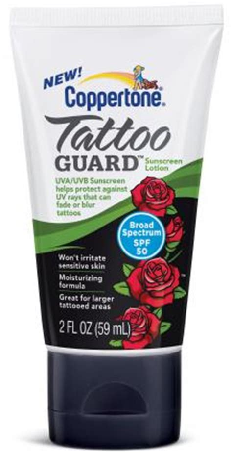 sunblock for tattoos skin care products