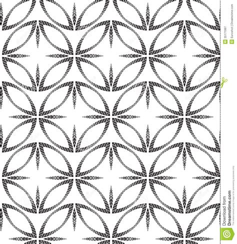 geometric patterns black and white circle halftone abstract circles geometric vector seamless