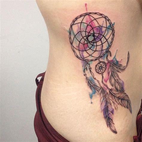tattoo dreamcatcher watercolor the 25 best watercolor dreamcatcher tattoo ideas on