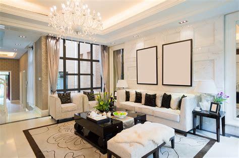 living room showpiece