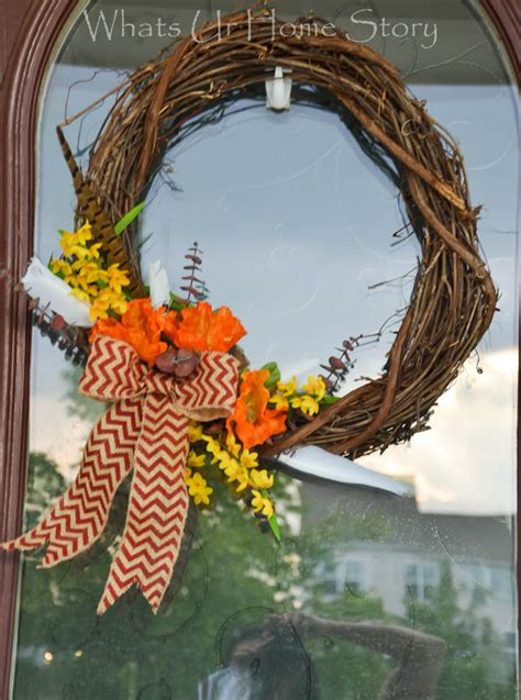 fall wreath  wreath  ways hometalk