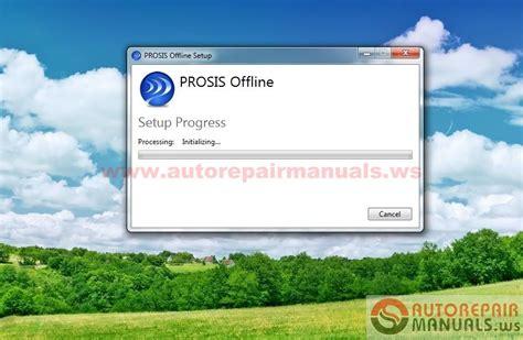 volvo prosis offline part repair 01 2015 auto