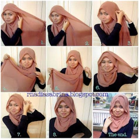 tutorial pashmina ootd 43 best hijab scarf how to images on pinterest hijab