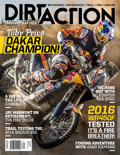 motocross action magazine preview dirt action issue 201 dirt action