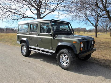 defender land rover 1997 1997 land rover defender 110 for sale 1844394 hemmings