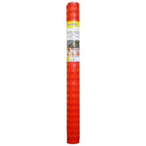 tenax 4 ft x 100 ft snow guard fence and warning barrier