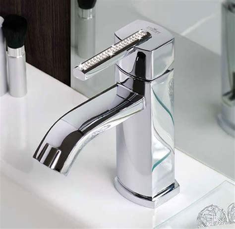 crystal bathroom taps swarovski azeta crystal faucets for you bathroom by webert