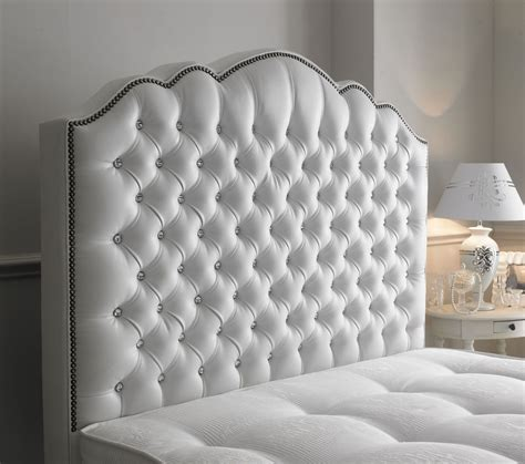 white headboard with diamonds amelia diamante 4ft 6in headboard for only 163 203 09 m h