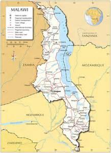 Malawi Africa Map by Malawi Map Map Of Malawi Malawi Map In English