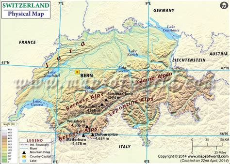 physical map of switzerland physical map of switzerland http www mapsofworld