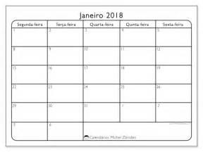 Calendario Janeiro 2018 Calend 225 Para Imprimir Janeiro 2018 Egidius Brasil