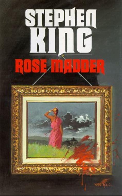 libro rose madder lecturas iveldie el retrato de rose madder stephen king