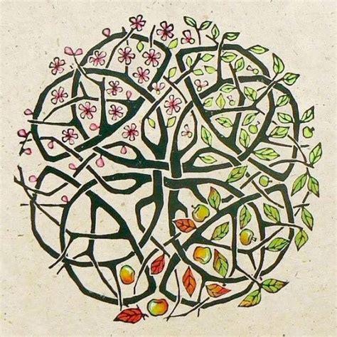 tattoo mandala tree four seasons mandala celtic pinterest mandala