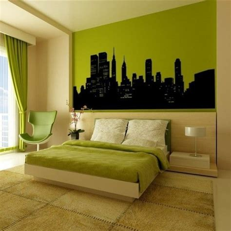 new york skyline bedroom ideas 60 frische farbideen f 252 r wandfarbe in gr 252 n