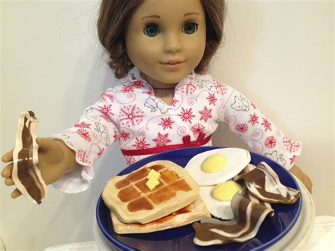 How To Make American Doll Food Out Of Paper - diy american doll food