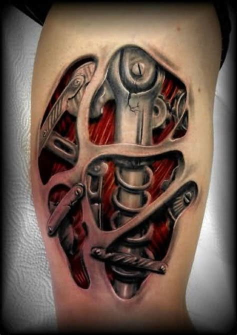 biomechanik tattoo unterarm biomechanical tattoos for men ideas and inspiration for guys