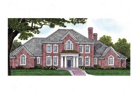 federal style house plans four bedroom adam federal hwbdo63402 adam federal from builderhouseplans