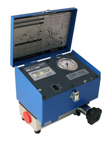 high pressure hydraulic flow meter hydracheck dht 1 series digital hydraulic tester
