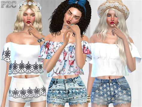 sims 2 clothing the sims resource pinkzombiecupcakes simple life bohemian set