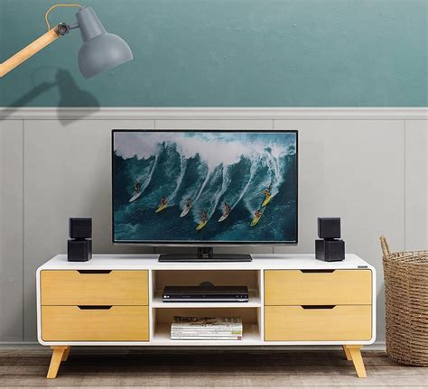 desain meja tv lcd 32 model meja tv modern minimalis terbaru 2018 lagi