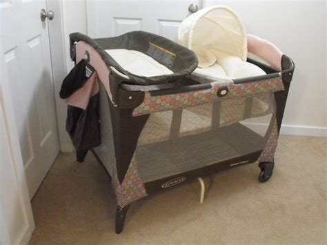 Pink And Brown Graco Pack N Play With Changing Table Graco Pack N Play Pink And Brown Images