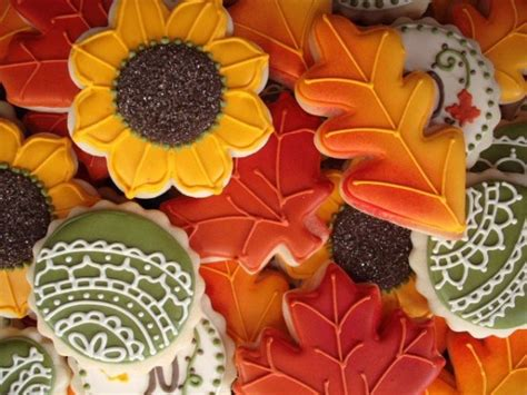 fall cookie decorating ideas twenty cookie ideas for and fall the sweet