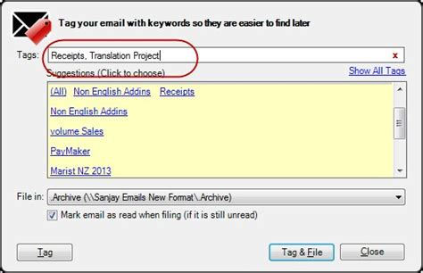 Tagged Email Search Emailtags For Outlook Archives Ms Outlook For Business