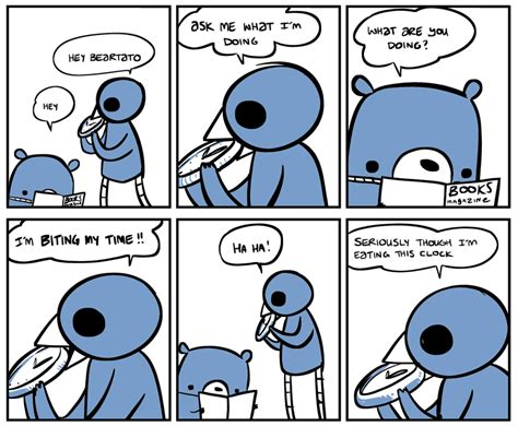 what time is lunch nedroid picture diary