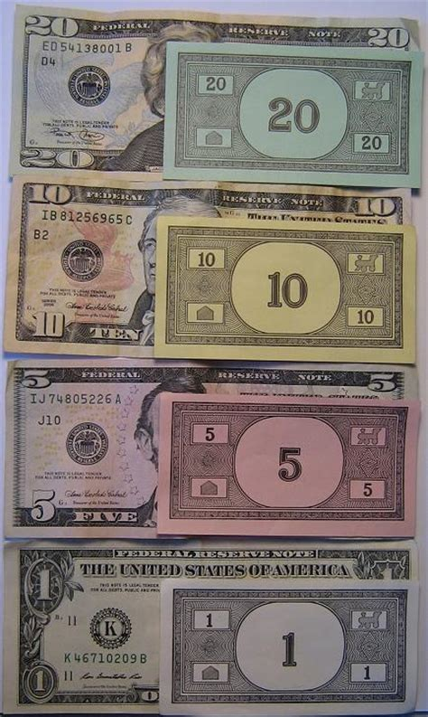 monopoly money colors us monopoly money coin community forum
