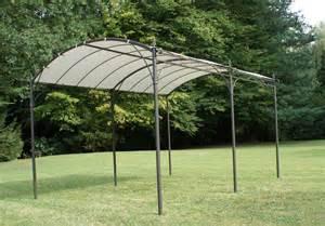 Tonnelle De Jardin Adossee