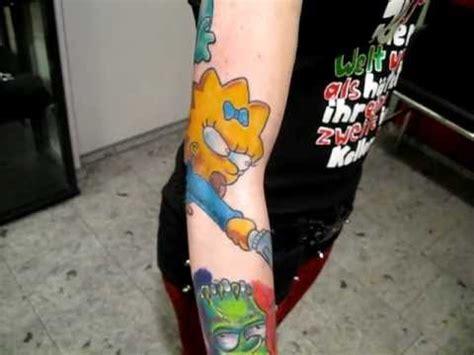 tattoo expo koblenz crazy ink tattoo neuwied koblenz simpsons youtube