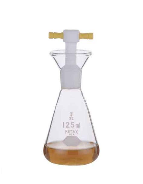 Iodine Flask With Glass Stopper 100 Ml Iwaki iodine flask kimax 174 clear glass copens labmart