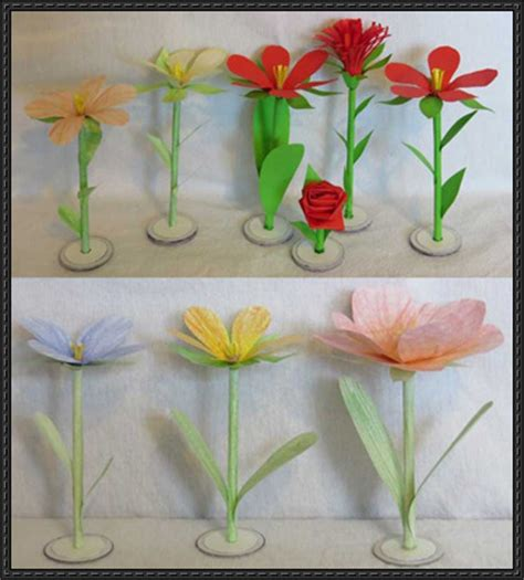 Papercraft Flowers - papercraftsquare new paper craft papercraft flower