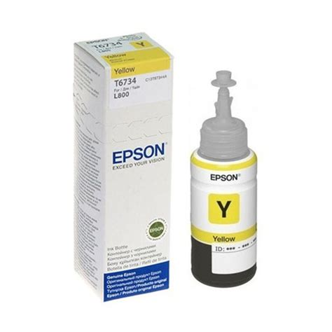 Tinta Epson L800 tinta epson t673420 al amarillo l800 best store
