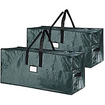 elf stor premium green christmas tree bag holiday extra large for up to 9 tree storage stor premium green tree bag large for up to 9 tree