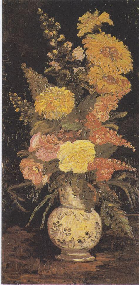 vase mit blumen file gogh vase mit astern salbei und anderen blumen