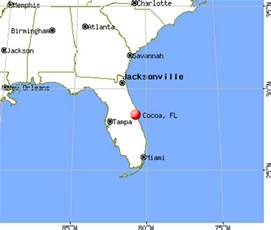 where is cocoa florida on map cocoa florida fl 32922 32926 profile population maps