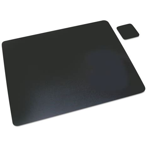 artistic 1924le leather desk pad with coaster