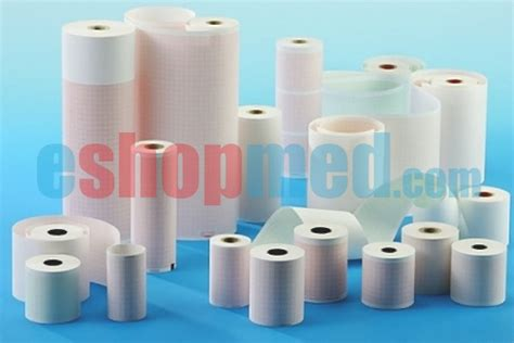 Thermal Paper Roll 57x30 paper for printer white 57x30 eshopmed thermal