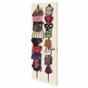 desire to organize purse rack hanging handbag organizer