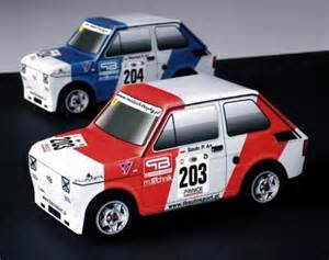 Build Fiat Papermau Maluch Trophy Easy To Build Fiat 126 Paper