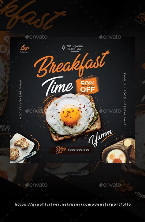 food flyer  comodensis graphicriver